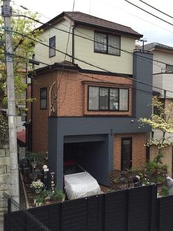 3階建て 屋根工事・外壁塗装